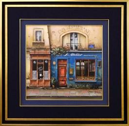 Obraz do salonu artysty Jan  Stokfisz Delarue pod tytułem Atelier