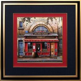 Obraz do salonu artysty Jan  Stokfisz Delarue pod tytułem Les Caves St Jean Nicolas