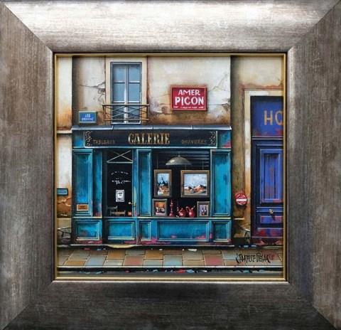 Obraz do salonu artysty Jan  Stokfisz Delarue pod tytułem Galerie