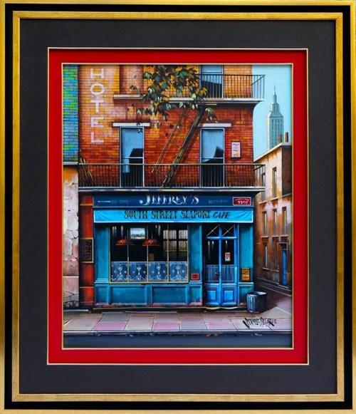 Obraz do salonu artysty Jan Stokfisz Delarue pod tytułem Jeffrey's