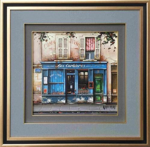 Obraz do salonu artysty Jan Stokfisz Delarue pod tytułem Les Corbirres