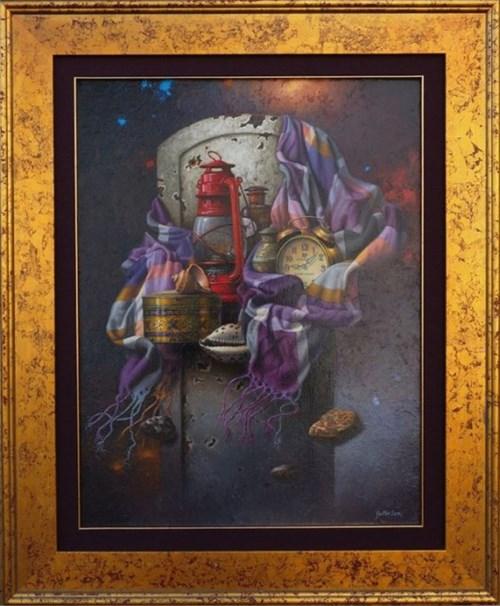 """Obraz do salonu artysty Edward Szutter pod tytułem Z cyklu """"Pod pozorem codzienności"""""""