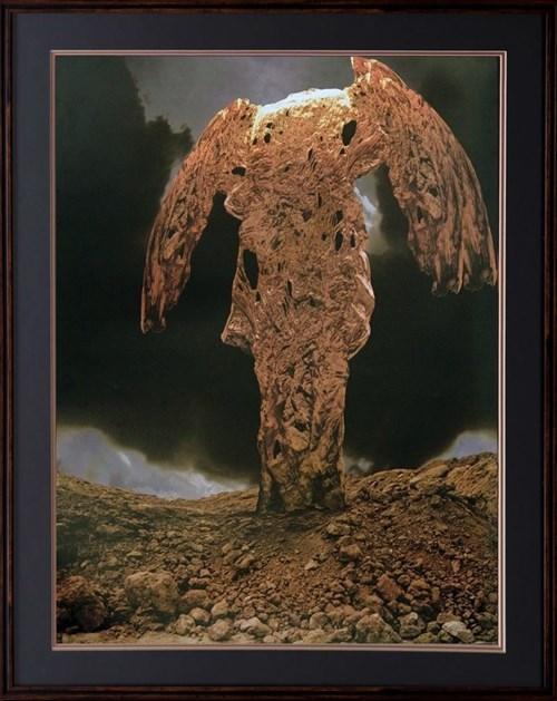 Obraz do salonu artysty Zdzisław Beksiński pod tytułem Skała