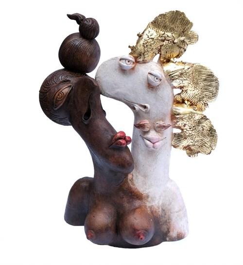 Rzeźba do salonu artysty Zbigniew Bury pod tytułem Czekolada
