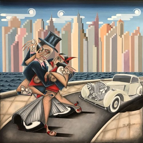 Obraz do salonu artysty Robert Jadczak pod tytułem Swing Time