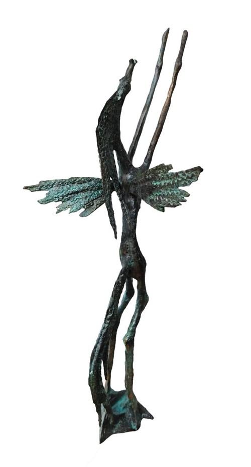 Rzeźba do salonu artysty Bronisław Chromy pod tytułem Pegaz