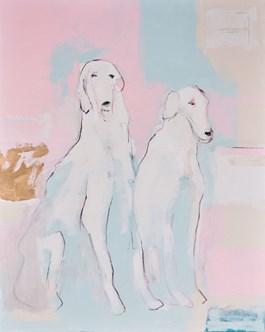 Obraz do salonu artysty Lucas Lucaprio pod tytułem Razem