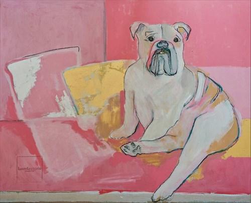 Obraz do salonu artysty Lucas Lucaprio pod tytułem You Are So Pretty