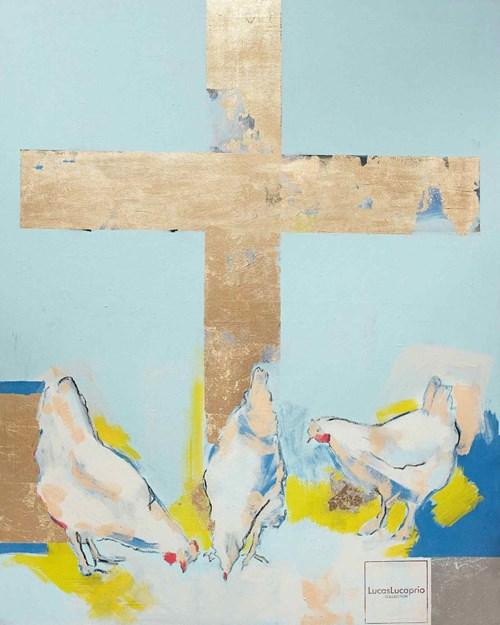 Obraz do salonu artysty Lucas Lucaprio pod tytułem Pokłosie