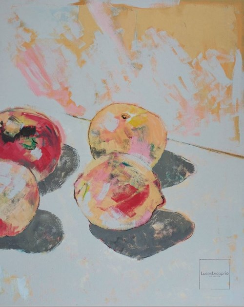 Obraz do salonu artysty Lucas Lucaprio pod tytułem Frutta II