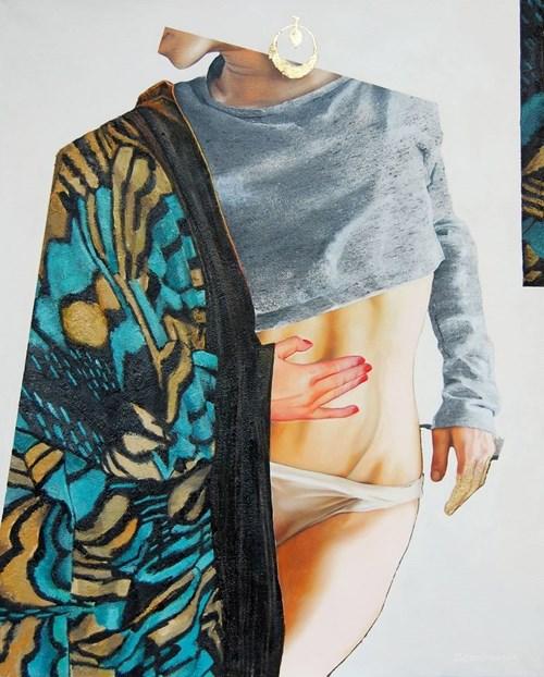 Obraz do salonu artysty Sylwia Zdzichowska pod tytułem Konterfekt XII