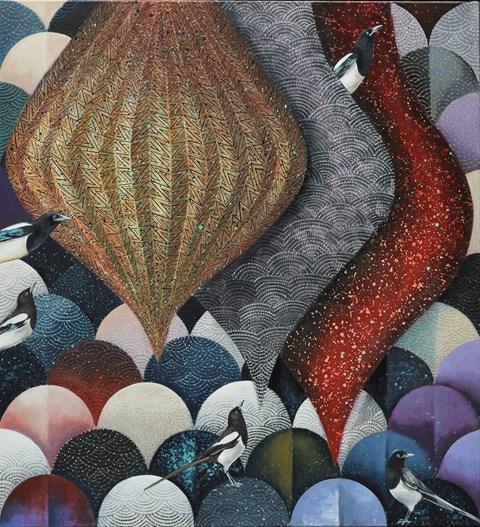 Obraz do salonu artysty Katarzyna Stelmach pod tytułem Kompozycja