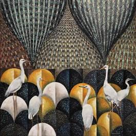Obraz do salonu artysty Katarzyna Stelmach pod tytułem Mozaika