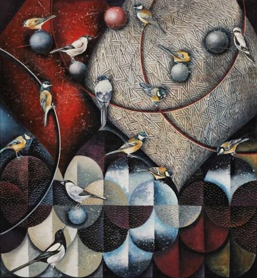 Obraz do salonu artysty Katarzyna Stelmach pod tytułem Gra