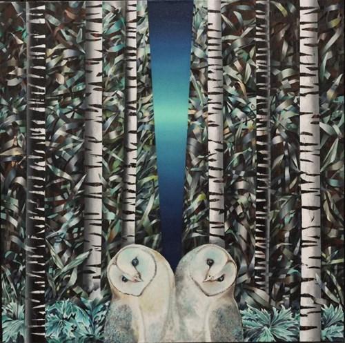 Obraz do salonu artysty Katarzyna Stelmach pod tytułem Duo