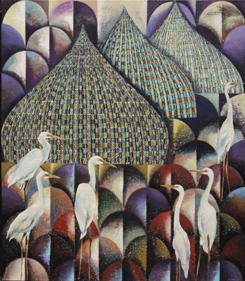 Obraz do salonu artysty Katarzyna Stelmach pod tytułem Mozaika II