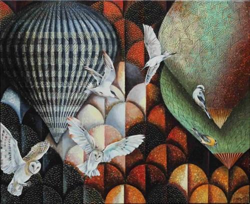 Obraz do salonu artysty Katarzyna Stelmach pod tytułem Dobry wieczór