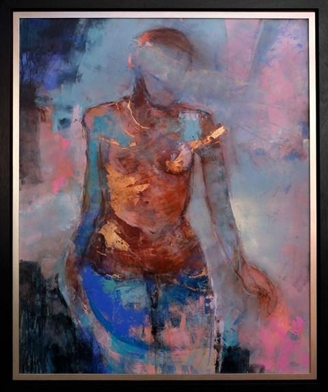 Obraz do salonu artysty Magdalena  Morey pod tytułem Time Moves Mountains