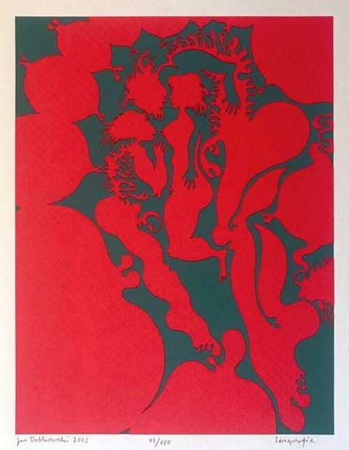 Grafika do salonu artysty Jan Dobkowski pod tytułem Serigrafia (71/100)