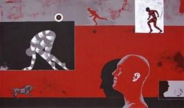 Obraz do salonu artysty Marcin Zalewski pod tytułem Cień