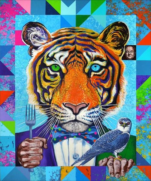 Obraz do salonu artysty Marcin Zalewski pod tytułem Apetyt
