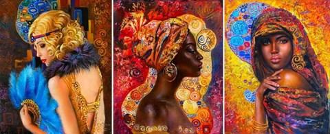 Obraz do salonu artysty Natali Masaliti pod tytułem Tryptyk