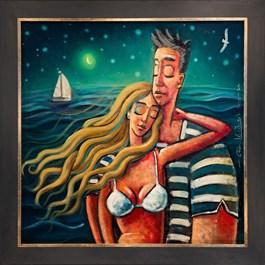 Obraz do salonu artysty Adam Kołakowski pod tytułem Wietrzna miłość
