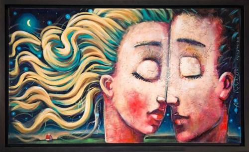 Obraz do salonu artysty Adam Kołakowski pod tytułem Ciepły wiatr