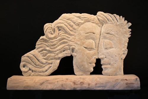 Rzeźba do salonu artysty Adam Kołakowski pod tytułem Ciepły wiatr
