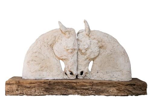 Rzeźba do salonu artysty Adam Kołakowski pod tytułem Amon i Dafne