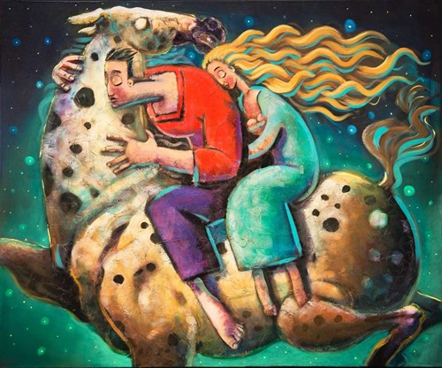 Obraz do salonu artysty Adam Kołakowski pod tytułem Młode wino