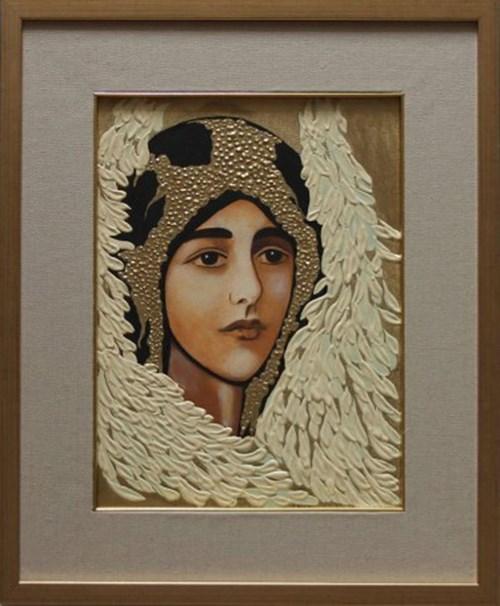 Obraz do salonu artysty Mariola Pęzioł pod tytułem Anioł Stróż II