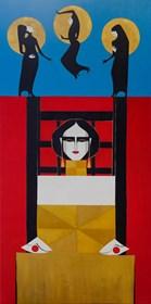 Obraz do salonu artysty Artur Smoła pod tytułem Krzesło łaski