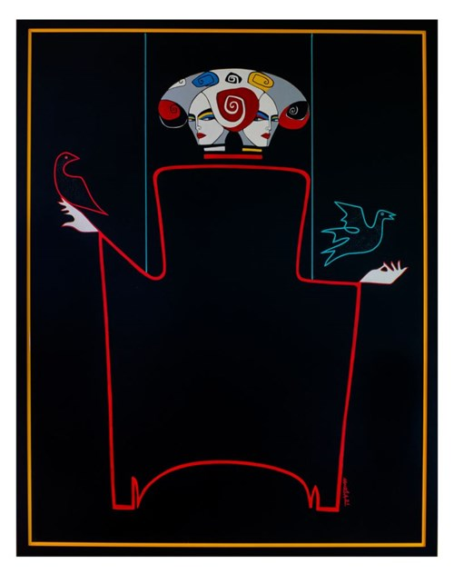 Obraz do salonu artysty Artur Smoła pod tytułem Libra