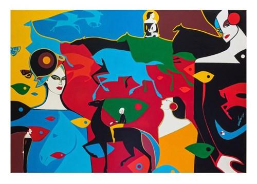 Obraz do salonu artysty Artur Smoła pod tytułem Kanion z Madonnami