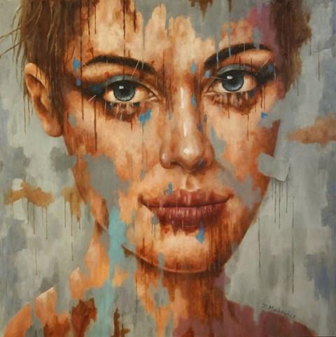 Obraz do salonu artysty Zdzisław Machowicz pod tytułem Nieba dwa