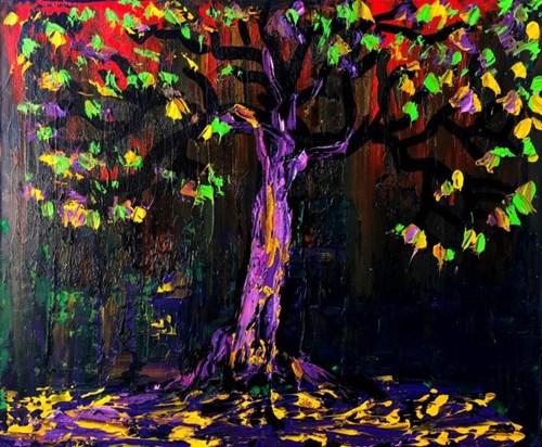 Obraz do salonu artysty Andrzej Fogtt pod tytułem Drzewo