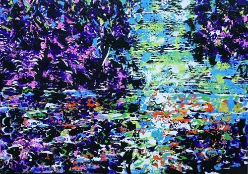 Obraz do salonu artysty Andrzej Fogtt pod tytułem Brda 24