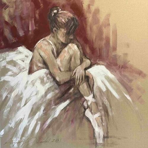 Obraz do salonu artysty Krzysztof Jarocki pod tytułem Baletnica