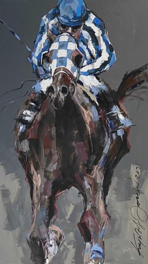 Obraz do salonu artysty Krzysztof Jarocki pod tytułem Champion