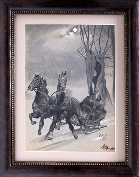 Obraz do salonu artysty Ludwik Maciąg pod tytułem Sanna