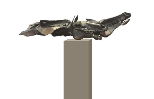 Rzeźba do salonu artysty Wojciech Jarocki pod tytułem Trójka