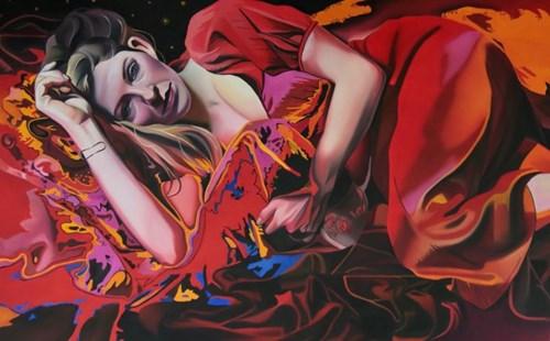 Obraz do salonu artysty Zofia Błażko pod tytułem Ogień
