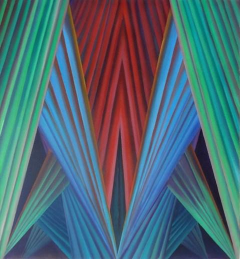 Obraz do salonu artysty Tomasz  Kopcewicz pod tytułem Przejście