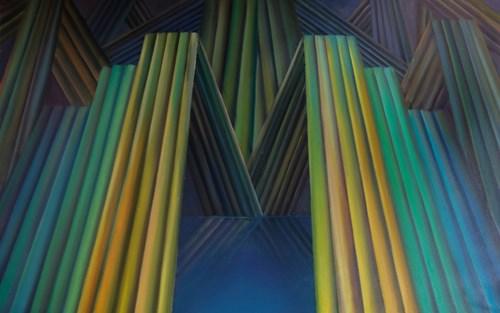 Obraz do salonu artysty Tomasz Kopcewicz pod tytułem The Trip