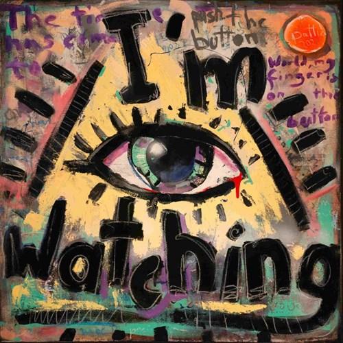 Obraz do salonu artysty Battler pod tytułem I'm Watching
