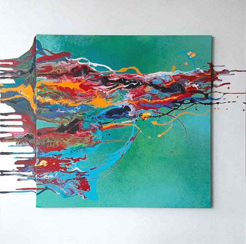 Obraz do salonu artysty Urszula Kozieł pod tytułem Ekspresje