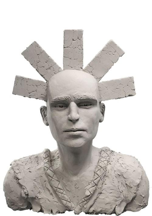 Rzeźba do salonu artysty Mariusz Potyszka pod tytułem Wisdom
