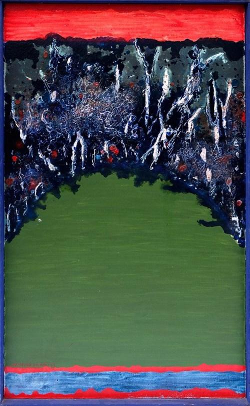 Obraz do salonu artysty Rajmund Ziemski pod tytułem Pejzaż 1/73