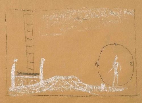 Obraz do salonu artysty Franciszek Starowieyski pod tytułem Projekt scenografii teatralnej